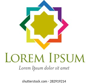 logo for some institutions or foundations according Islamic sharia