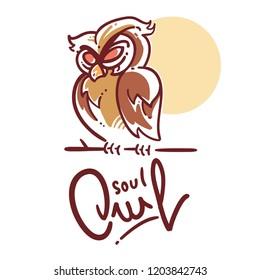 Logo Soul Owl