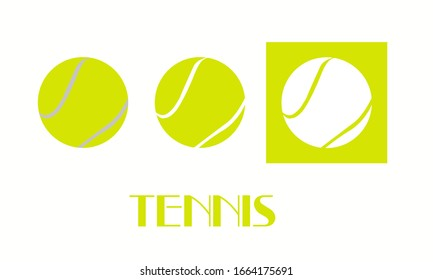 Logo of the sports game tennis