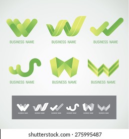 Logo and Symbol design W concept