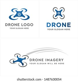 Drone Business Logo Images, Stock Photos & Vectors