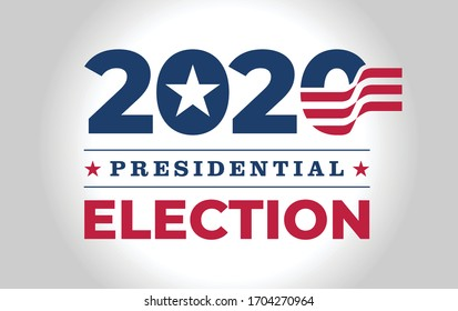 Logo / symbol / icon design for American (USA) presidential 2020 election year.