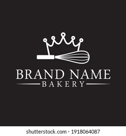 logo template for bakery and cake maker.