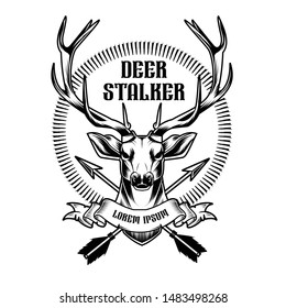logo template for deer hunters
