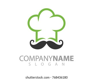 Logo template for Food, cooking, restaurant, chef