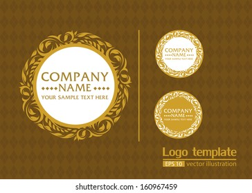 logo template illustrator vector