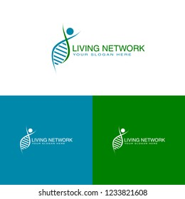 Logo template for pharmaceutical and biomedical companies as well as national health agencies.