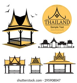 logo thai design house&building,Thailand