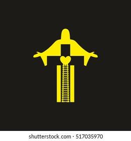 Jesus Logo Images, Stock Photos & Vectors   Shutterstock