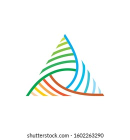 logo triangle vector for inspiration
