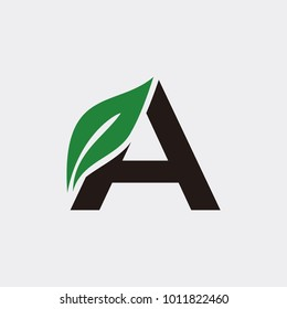 A logo typography, Arbor Day. Ecology concept.