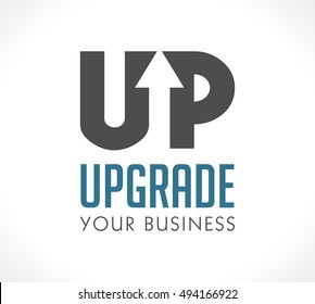 Logo - Upgrade your business
