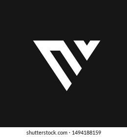 logo V initial V  combination V Letter V , abstract logo