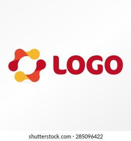 Logo. Vector. Abstract shape.