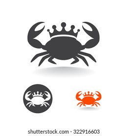 crab logo images stock photos vectors shutterstock