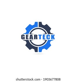 logo vector Gear Technology template
