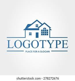 Logo. Vector. House.
