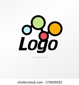 Logo. Vector. Lab.