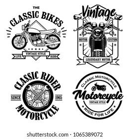 Logo Vintage Classic bike