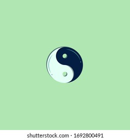 logo Yin with a modern concept