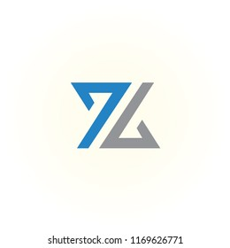 logo Z vector concept. icon Z abstract. alphabet symbol illustrator EPS 10