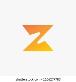 logo Z vector, icon Z concept, alphabet logo vector
