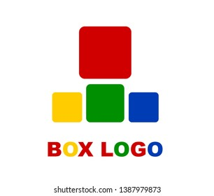 logon box with various colors