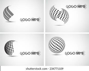 Logos design. Vector illustration.