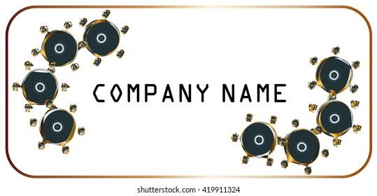 Logotype for business, high tech logo company