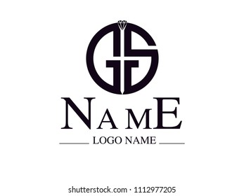 Logotype GS your name