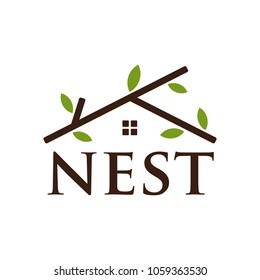 logotype of NEST vector logo eps 08.