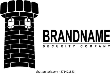 Logotype for security company