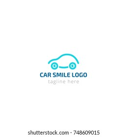 Electric Car Auto Logo Design Vector Stock Vector Royalty Free