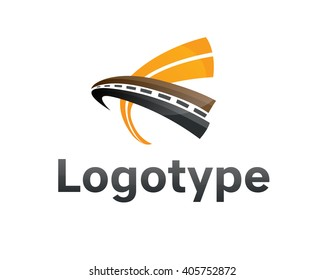 Logotype transportation