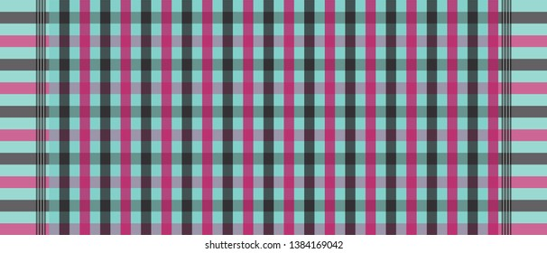 loincloth color dark shade vector and illustration.checkers tablecloth.shirt and fabric template.Abstract background.