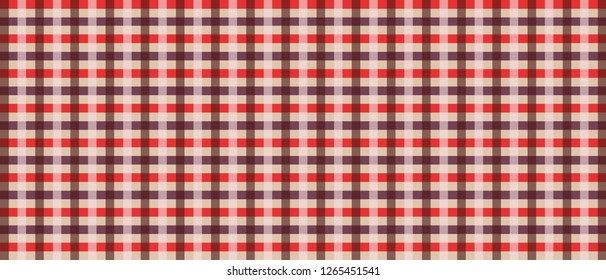 loincloth vector and illustration, wallpaper ,tablecloth, Scottish plaid.