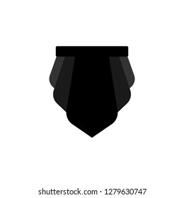Loincloth warrior isolated. Barbarian Clothing accessory. Vector