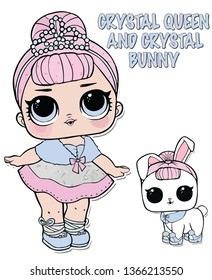 Lol Doll Design for Baby T-shirt -