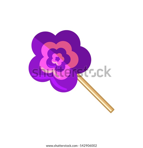 lollipop icon illustration isolated vector sign symbol
