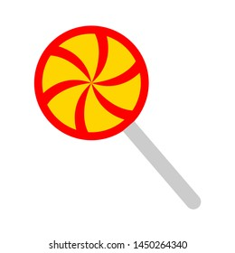 lollipop icon. Logo element illustration. lollipop design. colored collection. lollipop concept. Can be used in web and mobile
