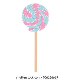 Lollipop Illustration Isolated