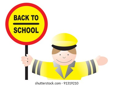 lollipop lady back to school
