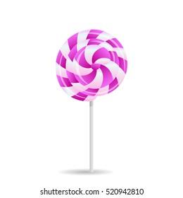 lollipop pink spiral