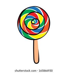 Lollipop vetor