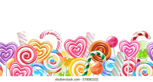 Candy Border Images Stock Photos Amp Vectors Shutterstock