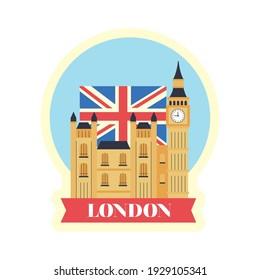 london big ben sticker icon