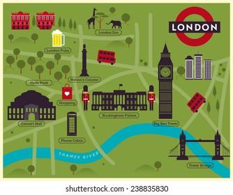 London City Tourist Map.Tourist Map London Images Stock Photos Vectors Shutterstock