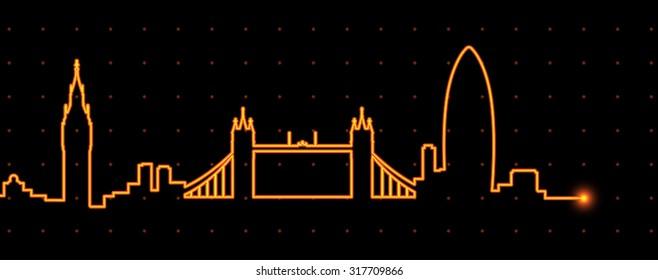 London Light Streak Profile