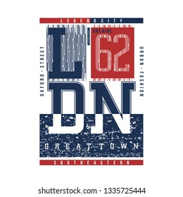london line abstrct graphic typography design vector t shirt