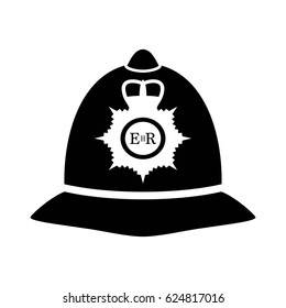 London policeman helmet icon